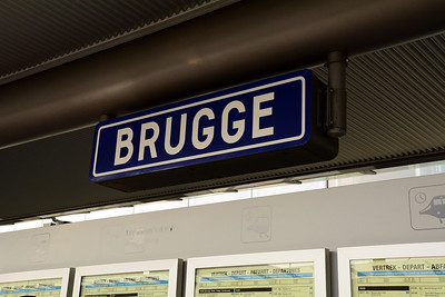 """We've arrived in the city of Brugge (BROO-gah) in Flemish, Bruges (BROOZH) in French and English.  The name comes from the Old Dutch word for """"bridge,"""" or some say, it's the old Viking word for """"wharf."""""""