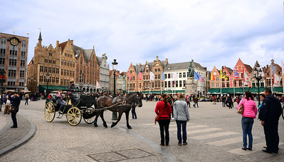 Today Market Square pulses with pedestrians and horse-drawn carriages.