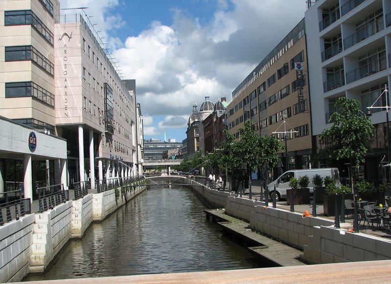 Arhus, Denmark - Canal