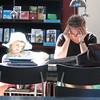 Scenes at Library - Arhus, Denmark