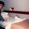 Checking Out Fancy Bed Making - Carnival Cruise Bahamas - NSP Convention  9-30 to 10-4, 1991