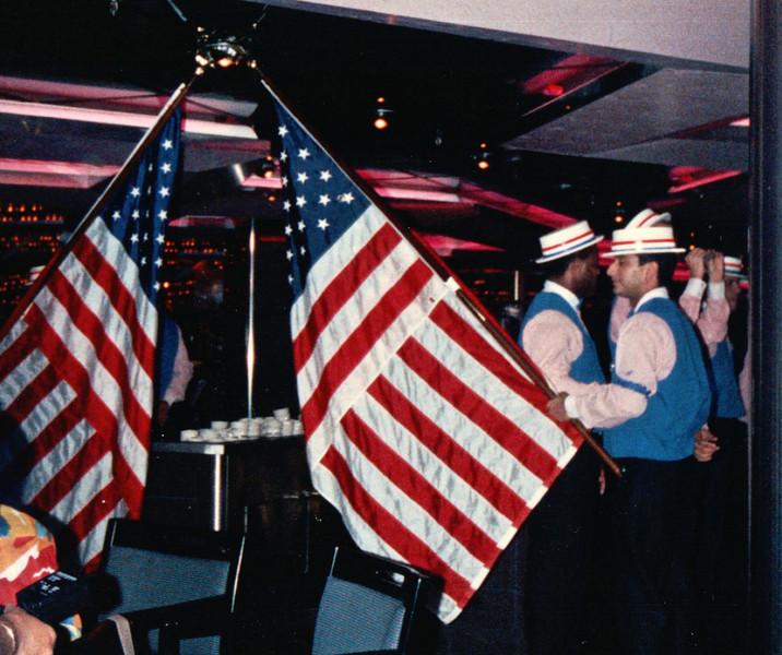 Patriotic USA - Carnival Cruise Bahamas - NSP Convention  9-30 to 10-4, 1991