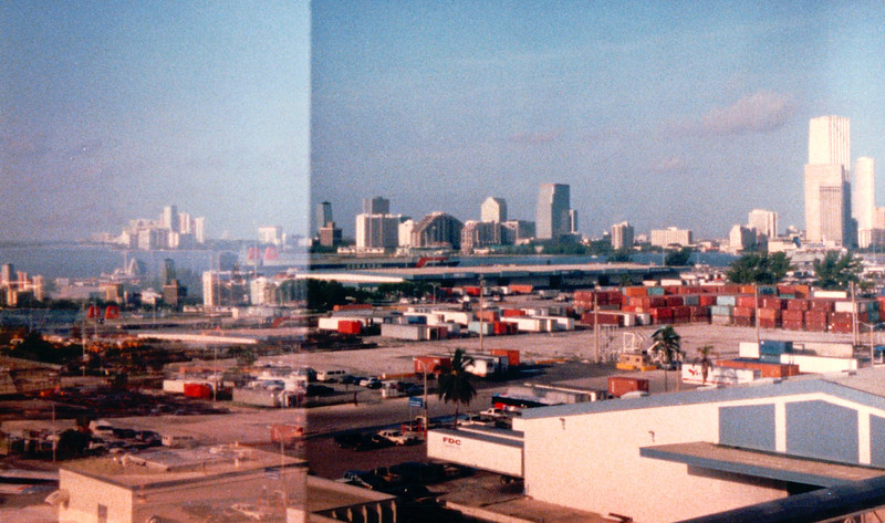 Miami Ride From Dock to Airport - Carnival Cruise Bahamas - NSP Convention  9-30 to 10-4, 1991