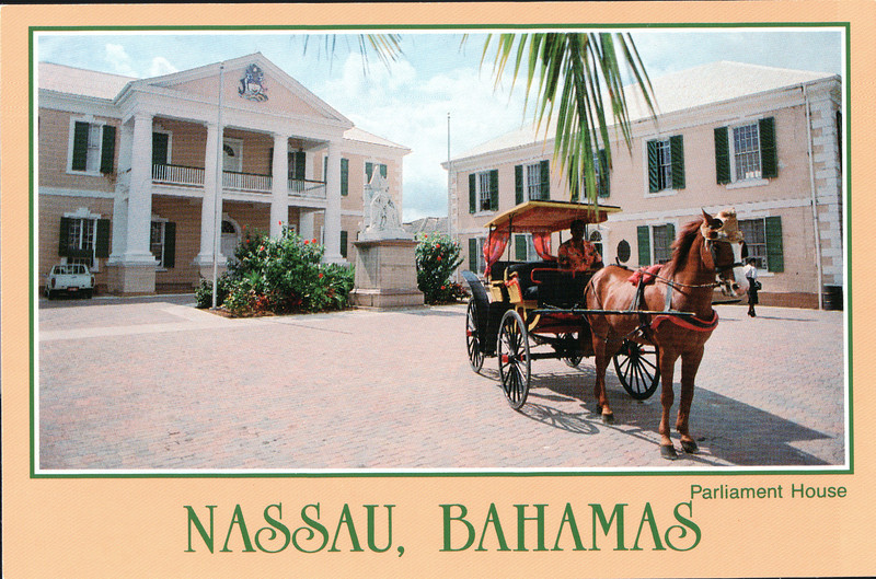 Post of Parliament House - Carnival Cruise Bahamas - NSP Convention  9-30 to 10-4, 1991