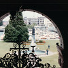 View From Inside Parliament Building - By the Harbor - Victoria, BC, Canada