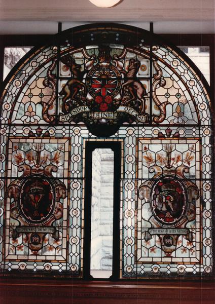 Queen Victoria Diamond Jubilee Window in Parliament Building