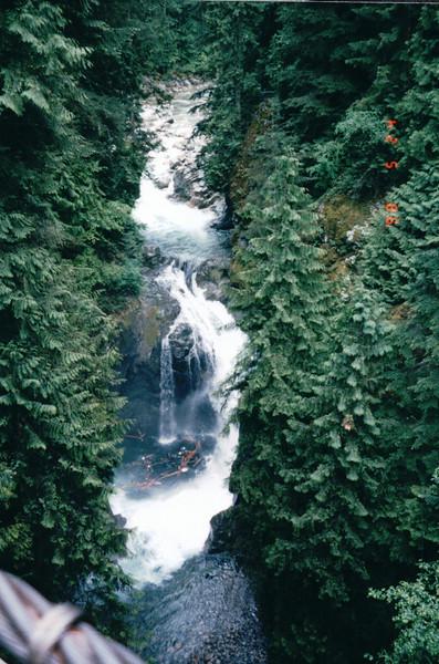Waterfall - Lynn Canyon Park - North Vancouver, Canada  - June 1998