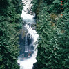 Waterfall - Lynn Canyon Park - North Vancouver, Canada  - June 1998