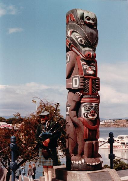 Totem Pole - Victoria, BC, Canada