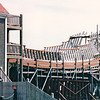 Hector Heritage Quay - Pictou, Nova Scotia, Canada  8-28-97 Ongoing construction of an 18th century 3-masted Dutch sailing ship, a copy of the Hector that carried the early Scottish pioneers from Loch Broom, Scotland, in 1773.