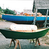 Two-Man Dories Built by the Shop - Lunenberg, Nova Scotia, Canada  9-1-97