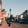Looking West on Water Street - St. Andrews by the Sea, New Brunswick, Canada  8-25-97