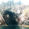 Ovens Natural Park - Riverport, Nova Scotia, Canada  9-1-97<br /> Views from the boat were awesome being able to reach out and touch the rocks.