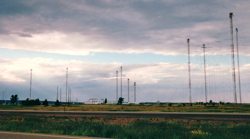 Radio Canada International - Outside of Sackville, New Brunswick, Canada  8-26-97