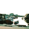 Peggy's Cove, Nova Scotia, Canada  8-31-97<br /> This is one of several villages built around the snug harbors of the craggy south coast of Nova Scotia.  This one is well known among artists and photographers.