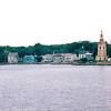 Mahone Bay, Nova Scotia, Canada  8-31-97<br /> One of our favorite places of the entire trip.  The waterfront with three churches is one of the most photographed scenes in Nova Scotia.