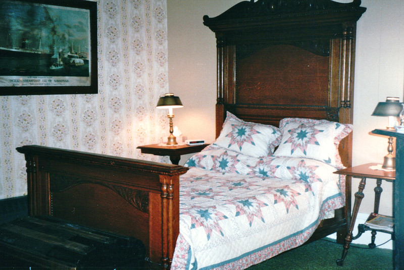 Our Room at the King George Inn - Annapolis Royal, Nova Scotia, Canada  9-1-97<br /> We got to choose our room since we were the first to arrive for the night.  We spent the evening in the parlor with Faye, the Innkeeper and Donna, the Owner.