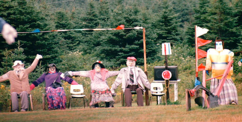 Does This Look Like Your Family Reunion?   - Cape Breton, Nova Scotia, Canada  8-30-97