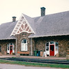 Kensington Train Station - Kensington, PEI, Canada  8-27-97<br /> This National Historic Site is one of the prettiest train stations remaining on PEI.  On Saturdays it hosts a farmers' market.
