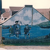 Mural on Water Street - Pictou, Nova Scotia, Canada  8-28-97