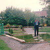 Randal Keeping HIs Eyes on the Stepping Stones - Kensington Towers and Water Gardens - Kensington, PEI, Canada  8-27-97