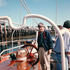 "Randal is Ready to Sail - S/V ""Cory"" - St. Andrews by the Sea, New Brunswick, Canada  8-25-97"