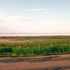 Distant View of the Confederation Bridge That Goes From Cape Tormentine, New Brunswick to Prince Edward Island, Canada  8-26-97<br /> A 13 kilometer (8.07 miles) bridge across the Northumerland Strait.  The longest continuous span bridge in the western hemisphere.