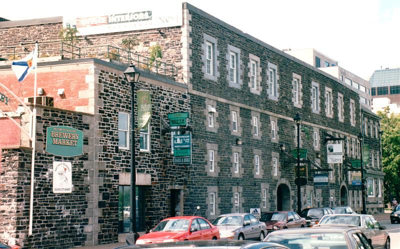 Interesting Architecture in Old Building- Halifax, Nova Scotia, Canada  8-31-97
