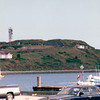 Parked By The Harbor to Enjoy View of Sailboats and Lighthouses- Halifax, Nova Scotia, Canada  8-31-97<br /> Halifax is the center of all the Maritime Provinces and boasts a population of 114,500.