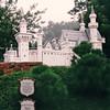 Mad King Ludwig's Famed Bavarian Neuschwanstein Castle - Kensington Towers and Water Gardens - Kensington, PEI, Canada  8-27-97