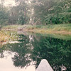 The Tip of the Canoe on the Mersey River - Kejimkujik National Park - Nova Scotia, Canada  9-1-97