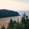 Coastal View - Fundy National Park, New Brunswick, Canada  8-26-97