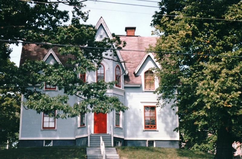 Architectural Style - Pictou, Nova Scotia, Canada  8-28-97