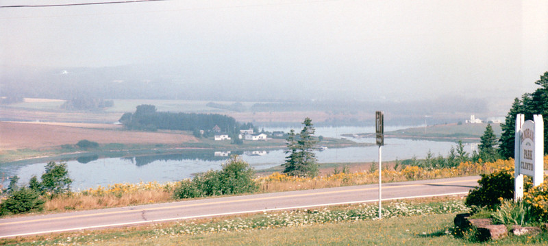 The Drive From Kensington to Cavendish, PEI, Canada  8-27-97