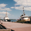 Tugboats:  Point Vigour and Point Carroll- Halifax, Nova Scotia, Canada  8-31-97