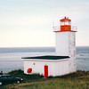 "Lighthouse on West Quaco Road - Picnic Location - St. Martins, New Brunswick, Canada  8-25-97<br /> Afterwards, back in the room, Randal asked Donna if she would choose to marry him again.  After she answered, ""Yes!"" he gave her a white gold wedding band to go with a diamond ring that was her grandmothers."