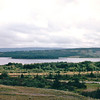 First Sight of Bras d'Or Lakes Near Whycocomagh, Nova Scotia, Canada  8-29-97