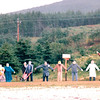 Cap Le-Moine - Cape Breton, Nova Scotia, Canada  8-30-97<br /> Noticed this driving by ... Various scarecrows depicting many walks of life.