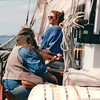 "Music Provided by Bear - S/V ""Cory"" - St. Andrews by the Sea, New Brunswick, Canada  8-25-97<br /> Bear mixes music with stories, being an amateur historian, he tells many stories of the Scots ad Irish (Randal's heritage), keeping everybody entertained and wondering what is true and what is not."