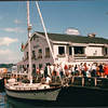 Lots of Sailing Boats and Seafood Restauants- Halifax, Nova Scotia, Canada  8-31-97
