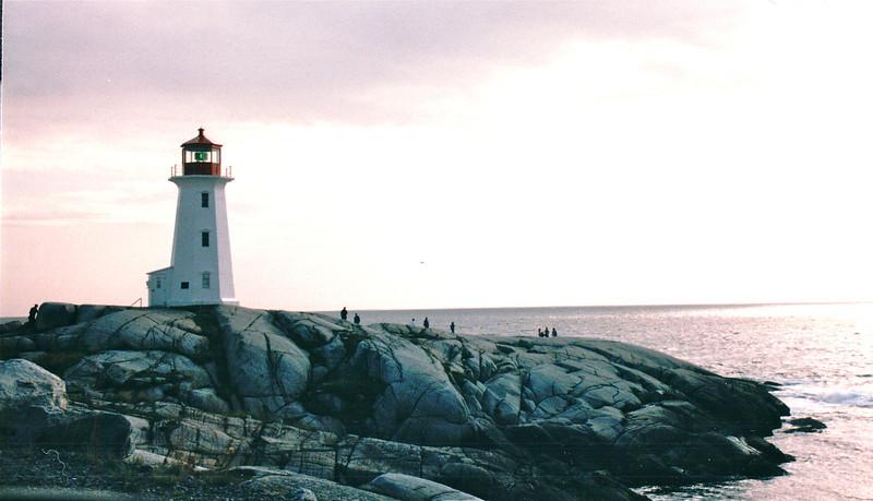Peggy's Cove Lighthouse - Peggy's Cove, Nova Scotia, Canada  8-31-97