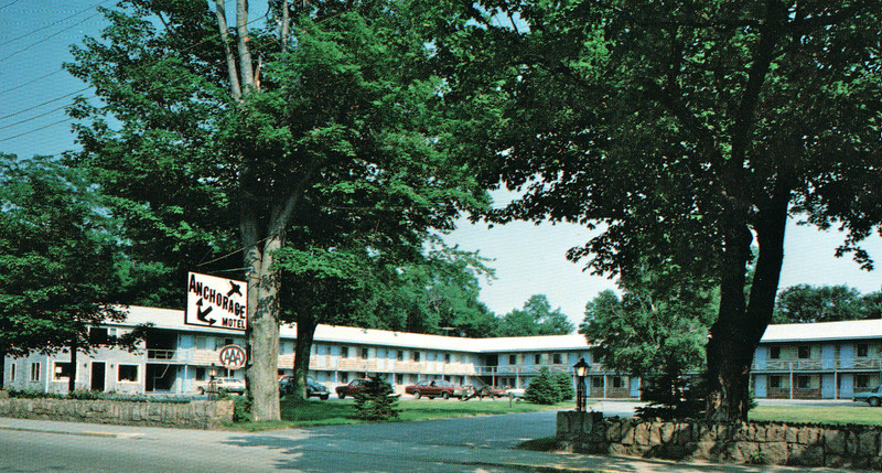 Our Place for the Night - Anchorage Motel - Bar Harbor, Maine  9-2-97