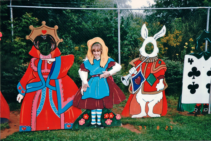Princess Donna in the Center - Kensington Towers and Water Gardens - Kensington, PEI, Canada  8-27-97