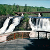 Kakabeka Falls - 51 Miles West of Thunder Bay - Ontario, Canada  6-3-99<br /> Kakabeka Falls is a waterfall on the Kaministiquia River, located beside the village of Kakabeka Falls in the municipality of Oliver Paipoonge, Ontario