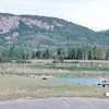 View From Our Room at Best Western Norwester Resort Hotel - Thunder Bay, Ontario, Canada  6-2-99