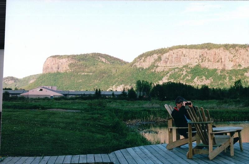 Pretty Cool Views at Hotel - Thunder Bay, Ontario, Canada  6-2-99