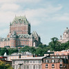 Quebec City - Hotel Frontenac on the Hill - Nature's Sunshine Award Trip - Holland America New England & Canada Cruise - June 21 to 28, 2003