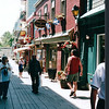 Walking Quebec City - Nature's Sunshine Award Trip - Holland America New England & Canada Cruise - June 21 to 28, 2003