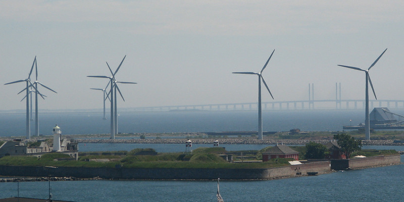 Windmills in Port - Copenhagen