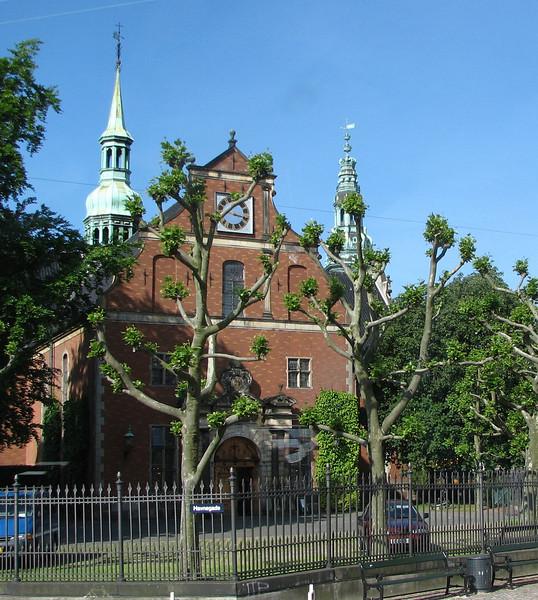 Scenes in Copenhagen - Unusual Trees
